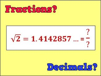 Which are better Fractions or Decimals?
